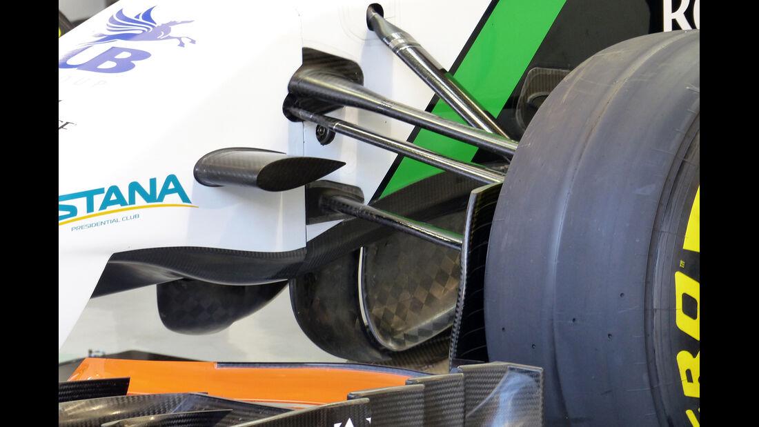 Force India - Formel 1 - Test - Bahrain - 22. Februar 2014