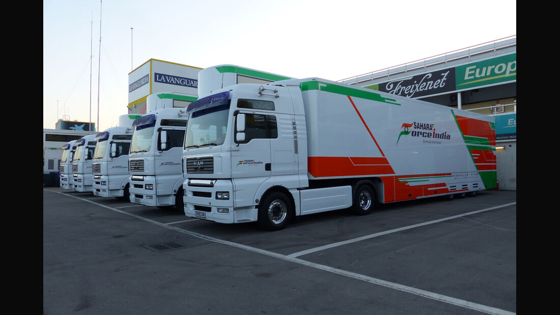 Force India - Formel 1-Test - Barcelona - 19. Februar 2015