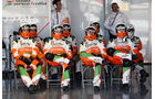 Force India - Formel 1 - Test - Barcelona - 2. März 2013