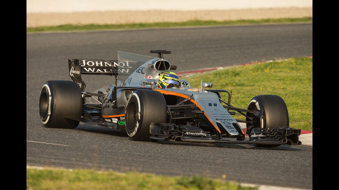 Force India - Formel 1 - Test - Barcelona - 2017