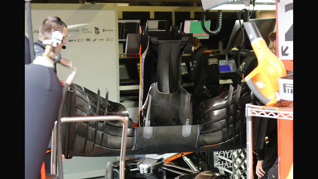 Force India - Formel 1-Test - Barcelona - 25. Februar 2016