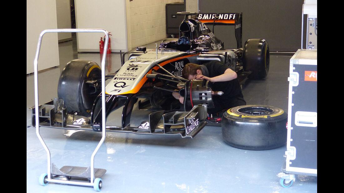 Force India - Formel 1-Test - Barcelona - 27. Februar 2015