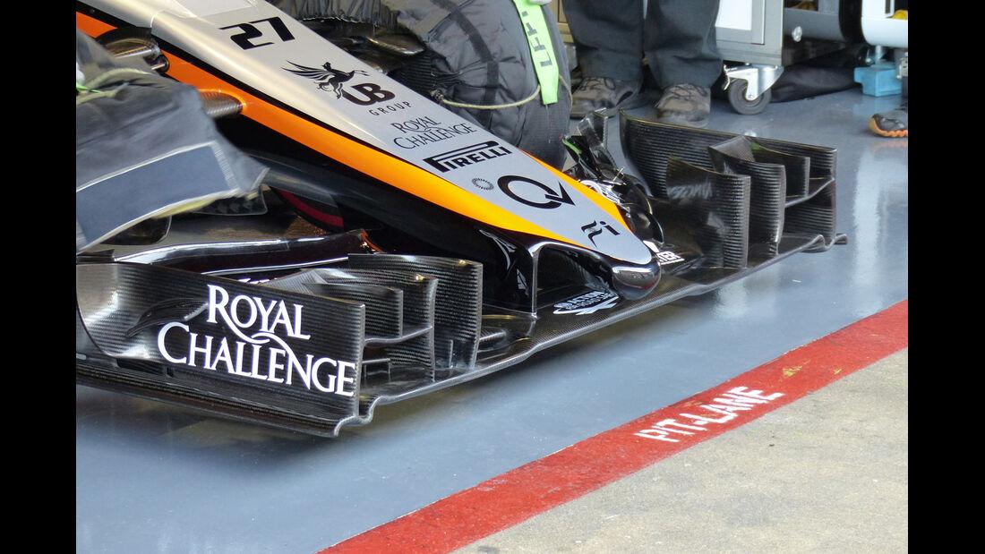 Force India - Formel 1-Test - Barcelona - 28. Februar 2015