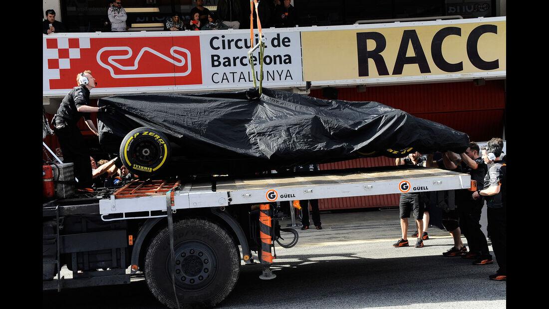 Force India - Formel 1-Test - Barcelona - 4. März 2016