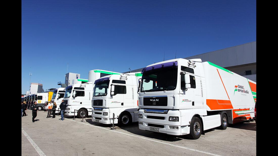 Force India, Formel 1-Test, Jerez, 6.2.2013