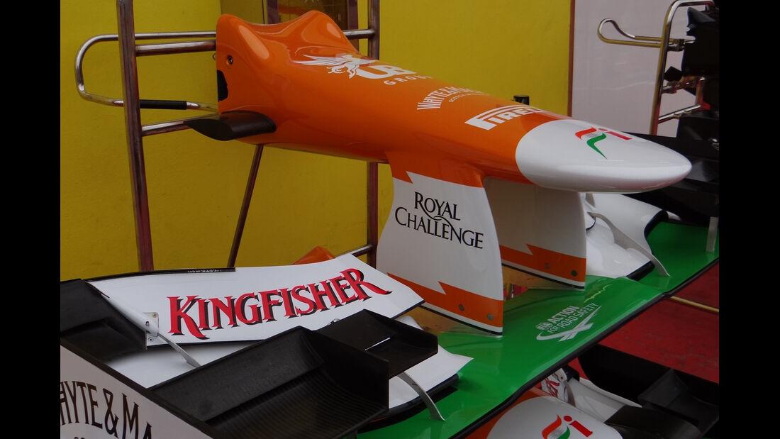 Force India - Formel 1-Test - Mugello - 3. Mai 2012