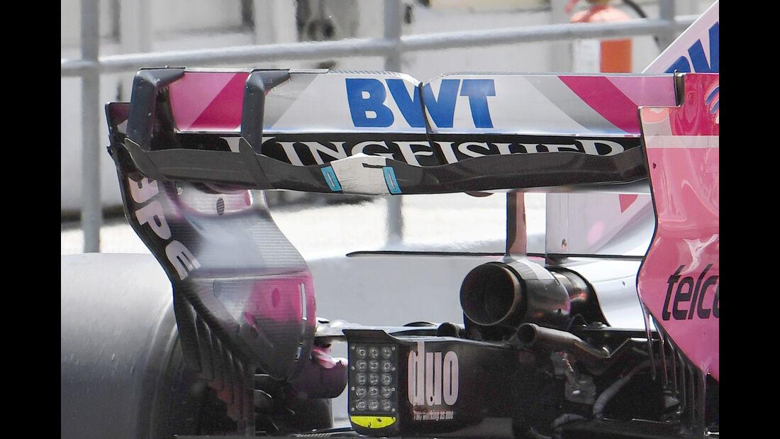 Force India - Formel 1 - Testfahrten - Barcelona - 15.5.2018