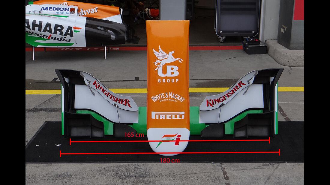 Force India Frontflügel 2013 / 2014