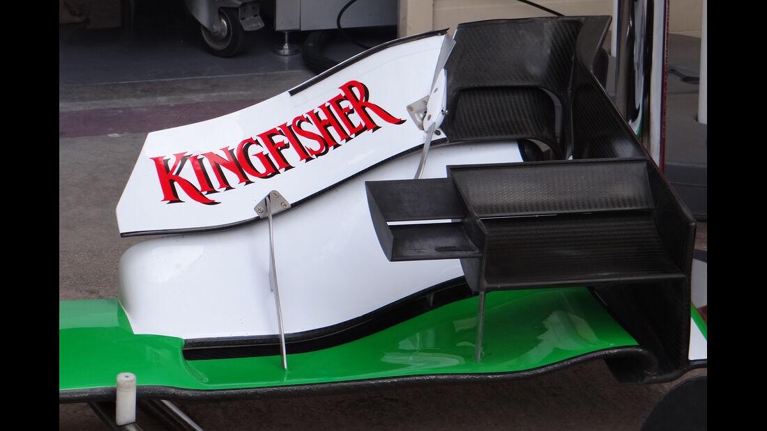 Force India-Frontflügel - GP Europa - Valencia - Formel 1 - 22. Juni 2012