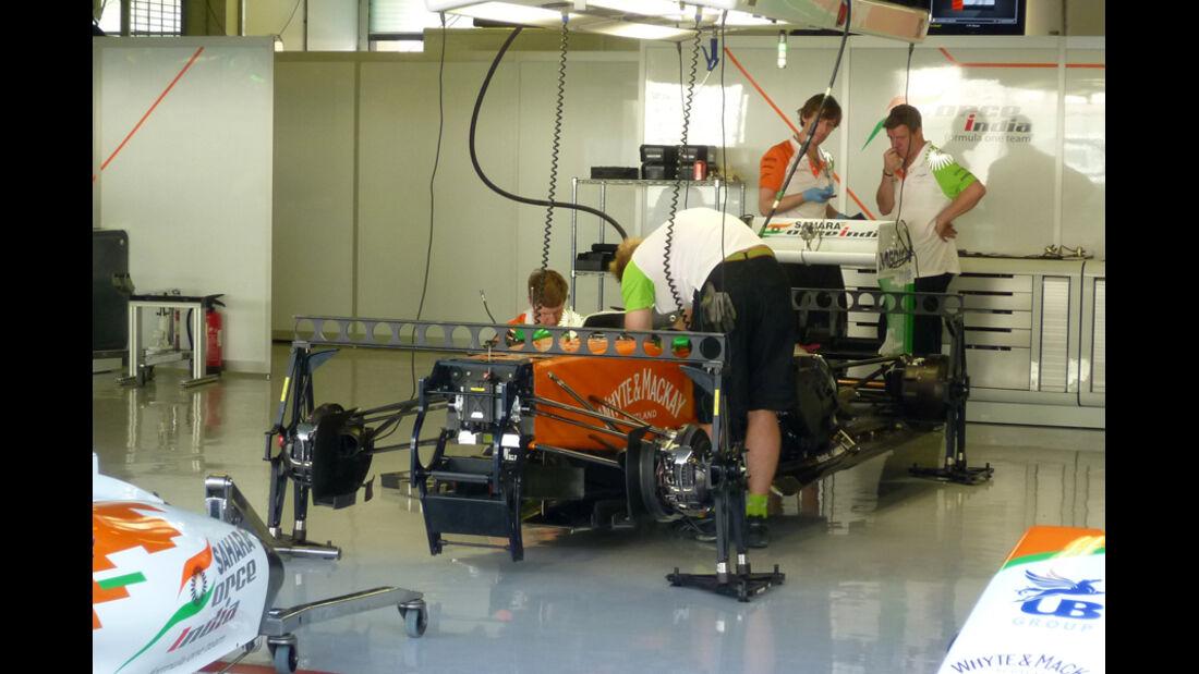 Force India - GP Abu Dhabi - 10. November 2011