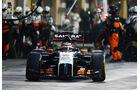 Force India - GP Abu Dhabi 2014