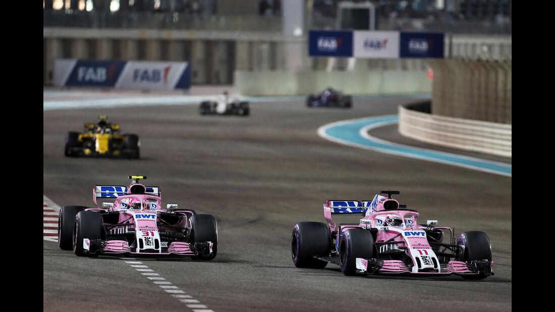 Force India - GP Abu Dhabi 2018