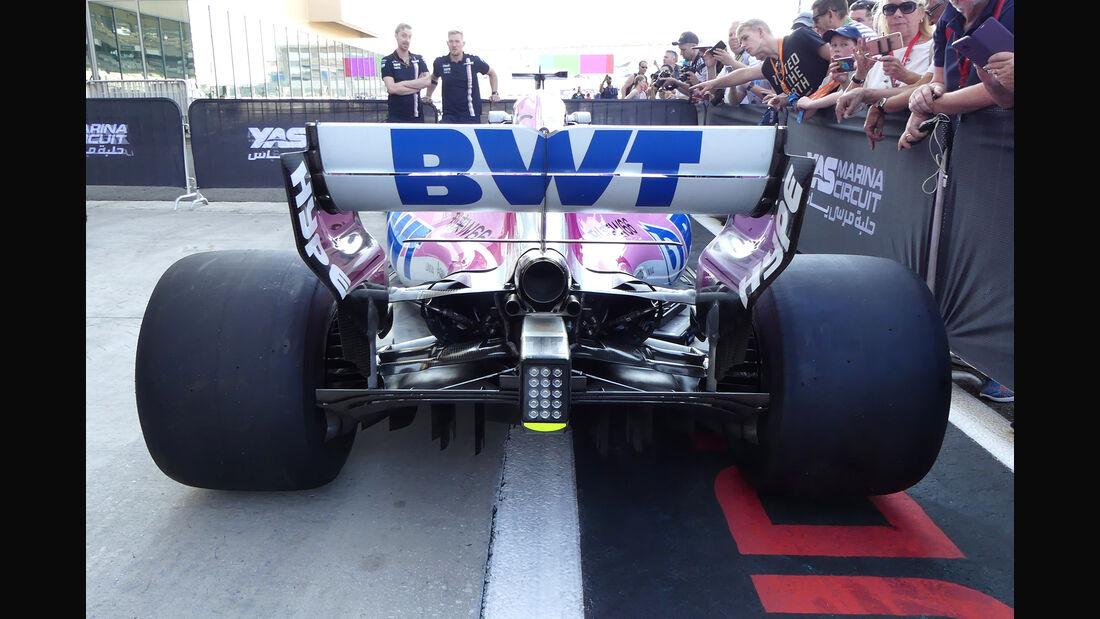 Force India - GP Abu Dhabi - Formel 1 - 22. November 2018