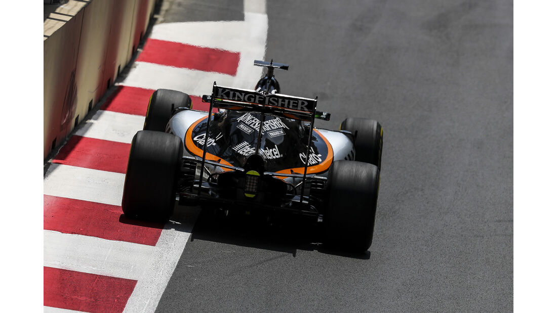 Force India - GP Aserbaidschan 2016