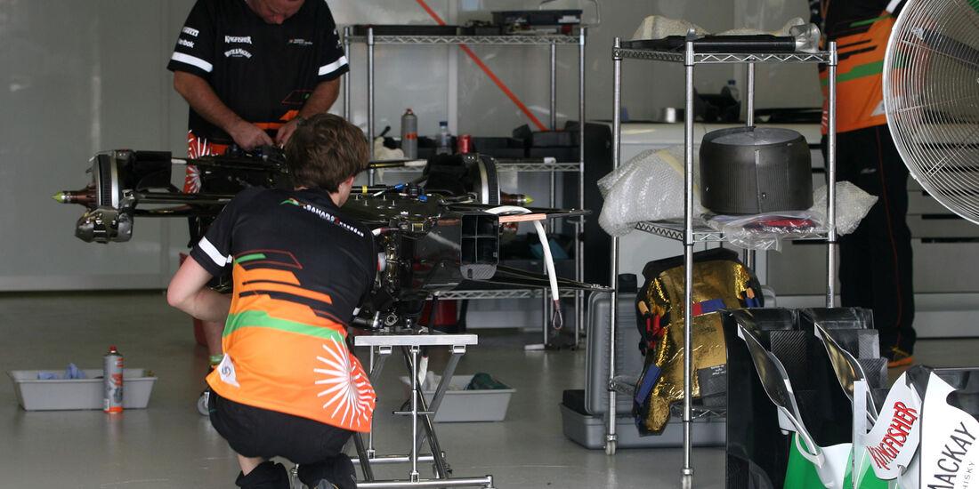 Force India - GP Australien - 14. März 2012