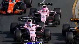 Force India - GP Australien 2017