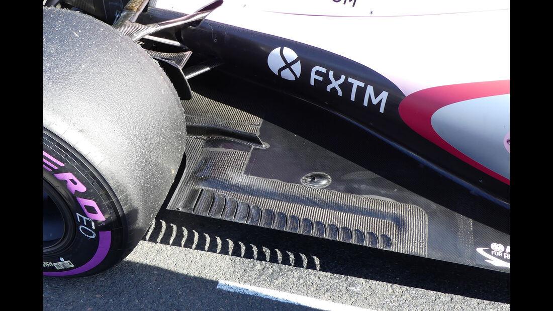Force India - GP Australien - Formel 1 - Technik - 2017