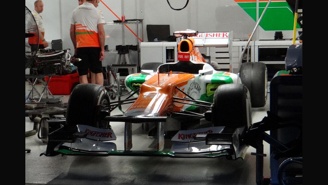 Force India - GP Australien - Melbourne - 15. März 2012