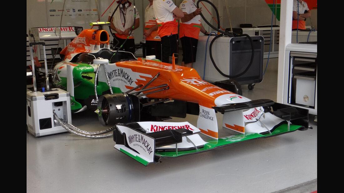 Force India - GP Australien - Melbourne - 16. März 2012