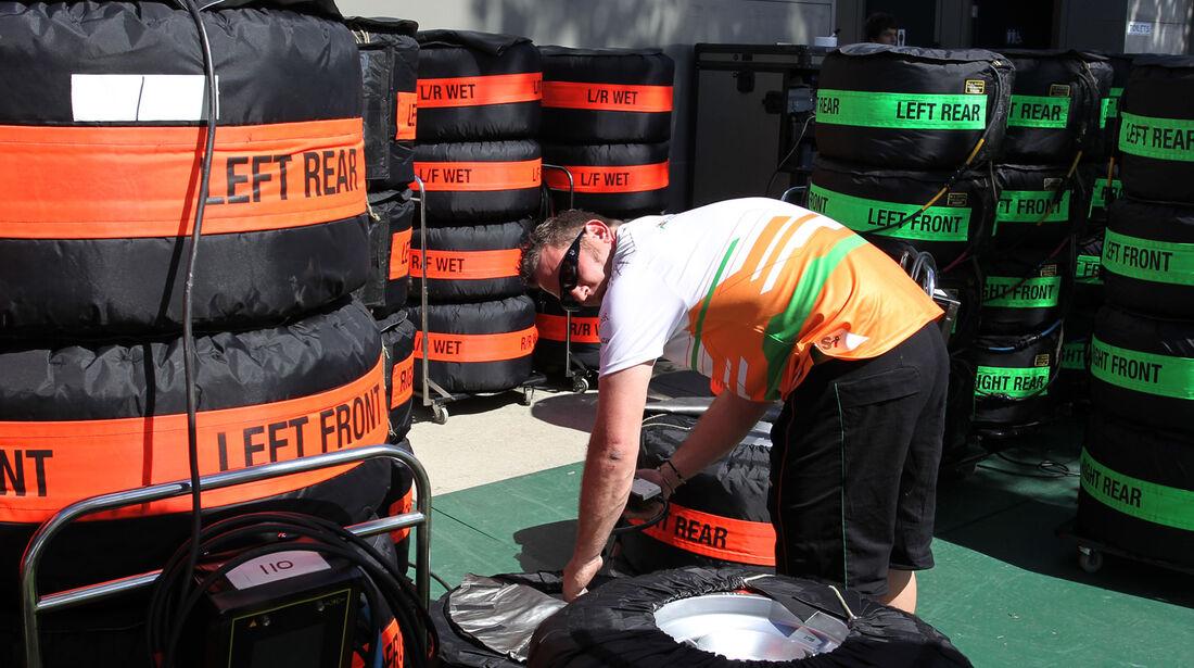 Force India - GP Australien - Melbourne - 17. März 2012