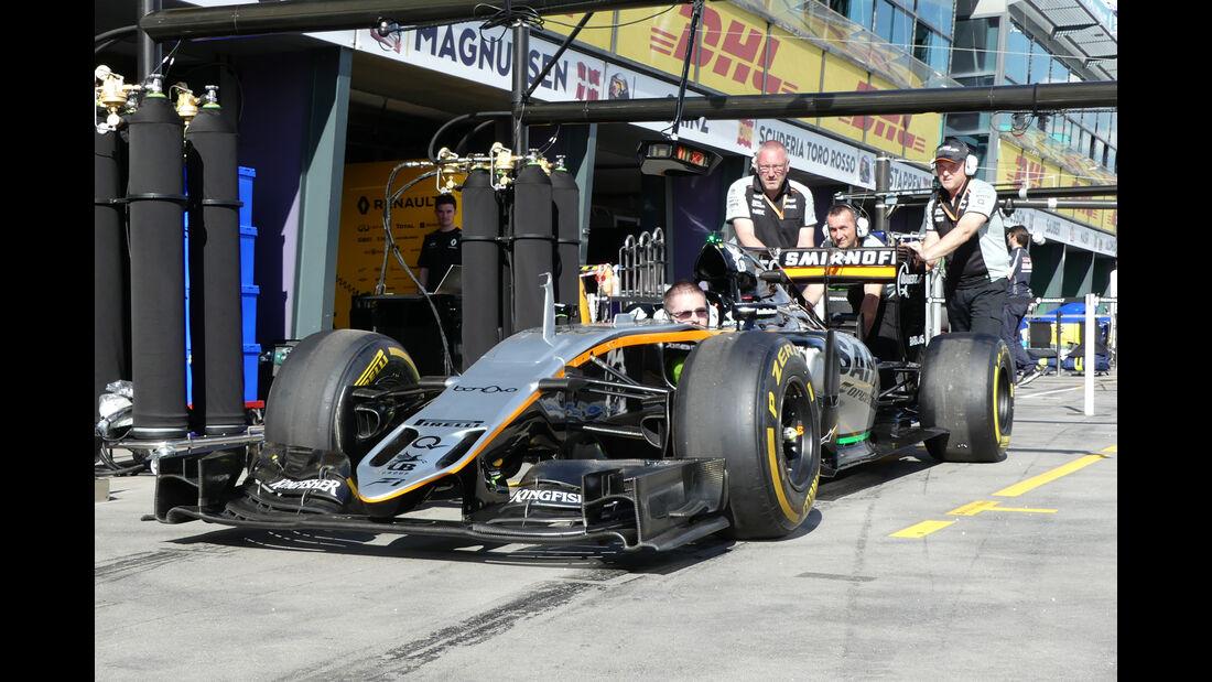 Force India - GP Australien - Melbourne - 17. März 2016