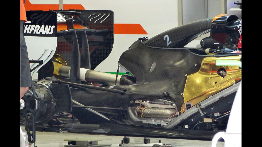 Force India - GP Bahrain 2014 Technik