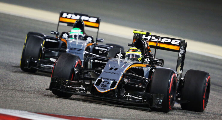Force India - GP Bahrain 2016