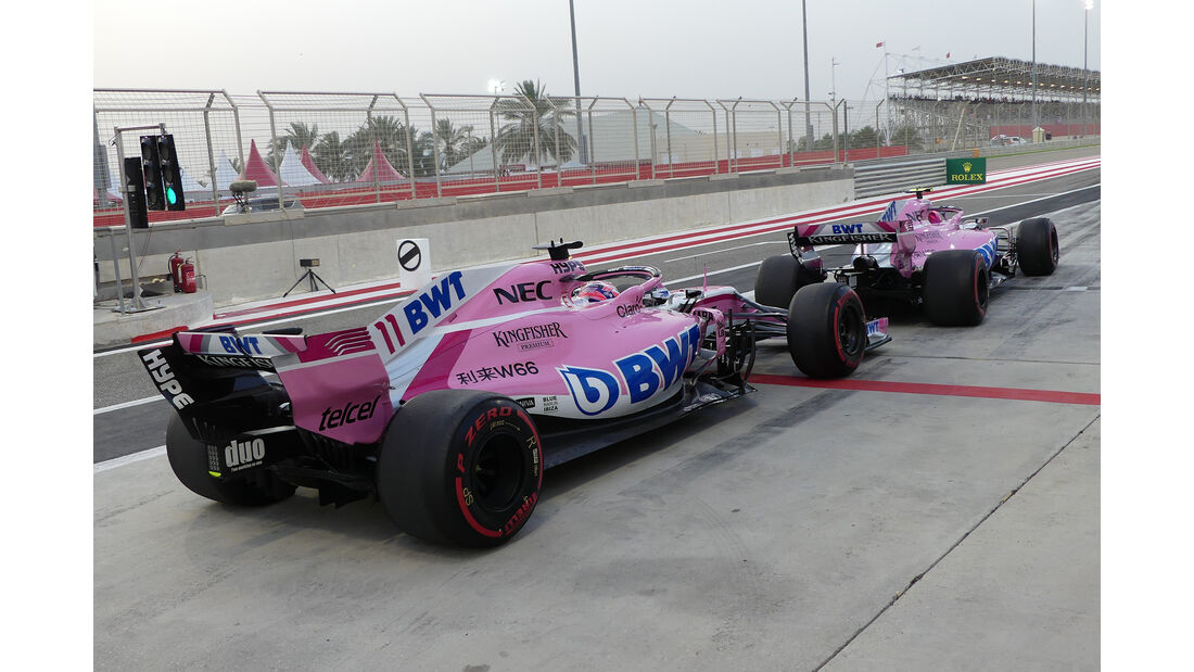 Force India - GP Bahrain 2018