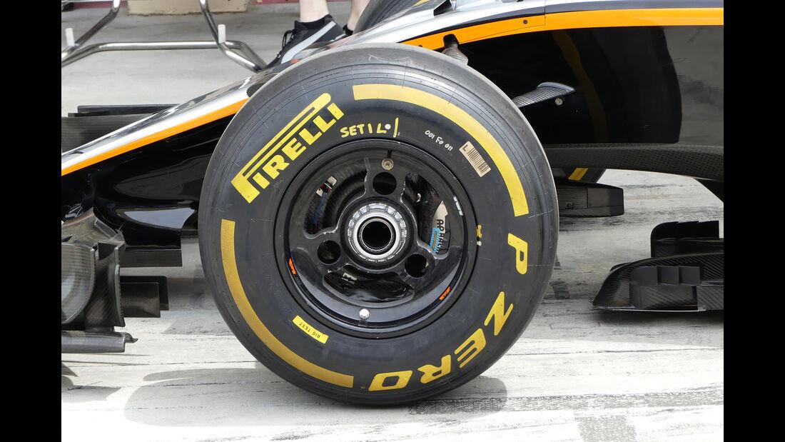 Force India - GP Bahrain - Formel 1 - 1. April 2016