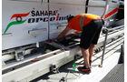 Force India - GP Barcelona - Formel 1 - Mittwoch - 6.5.2015