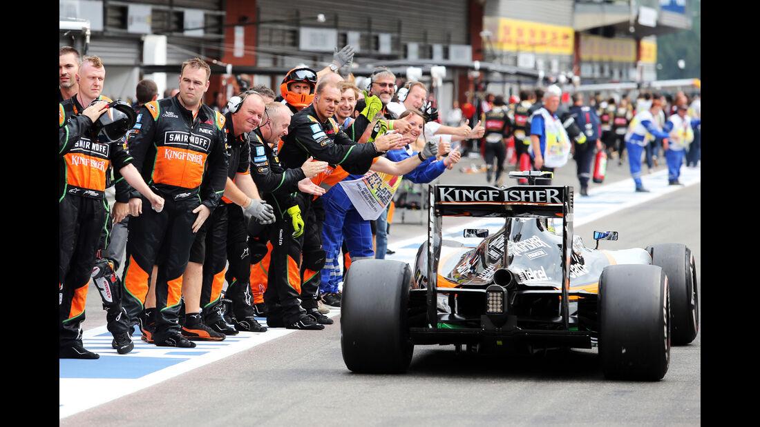 Force India - GP Belgien 2015