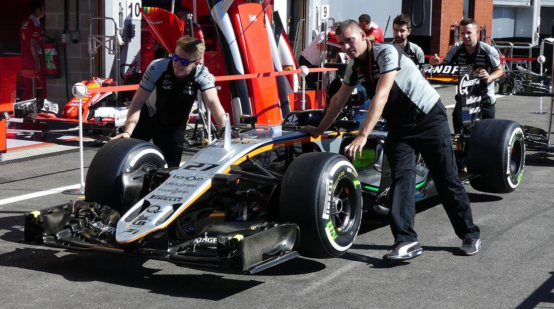 Force India - GP Belgien 2016 - Spa-Francorchamps - Donnerstag - 25.8.2016