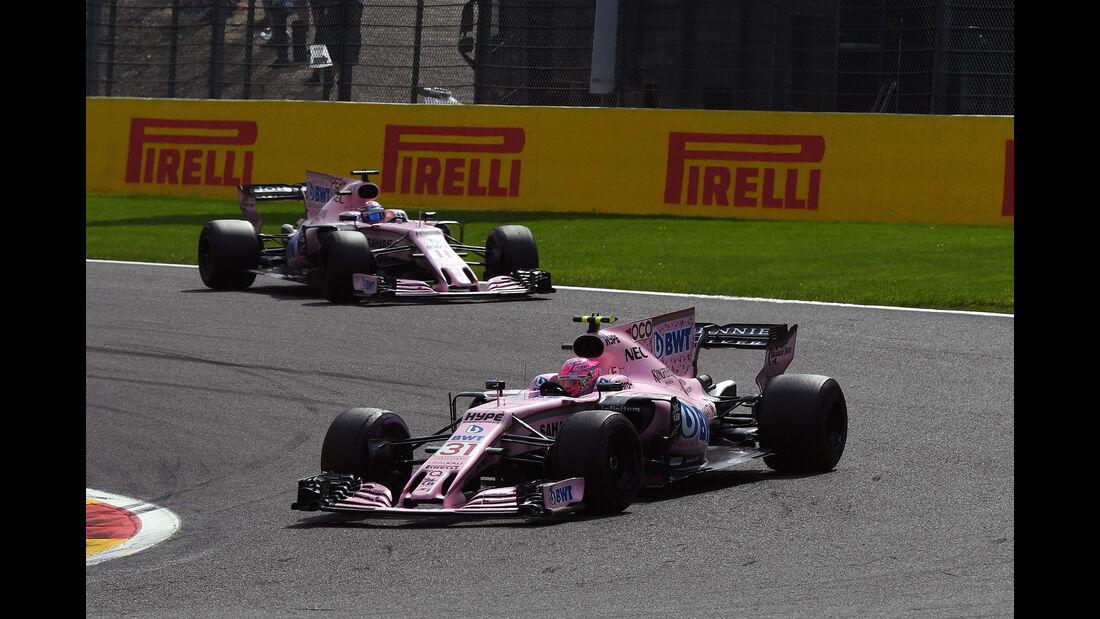 Force India - GP Belgien 2017