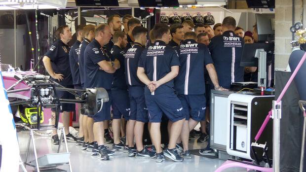 Force India - GP Belgien 2018