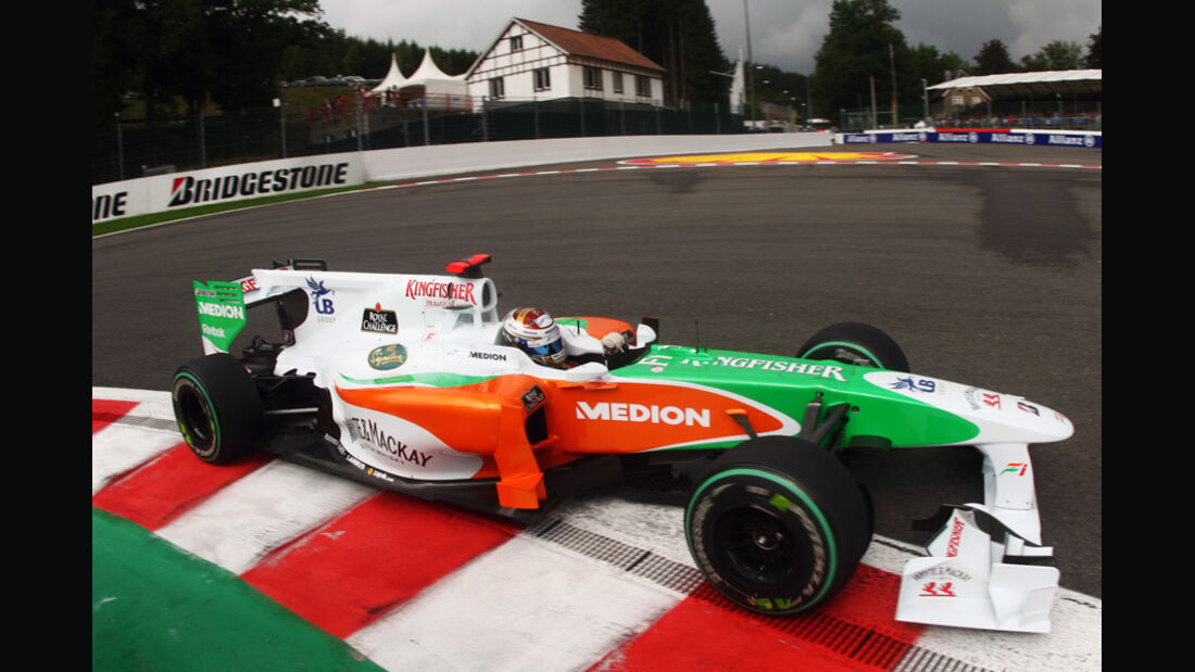 Force India GP Belgien