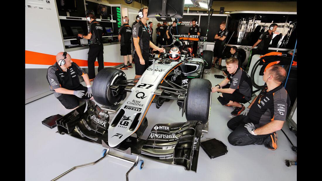 Force India - GP Brasilien 2015