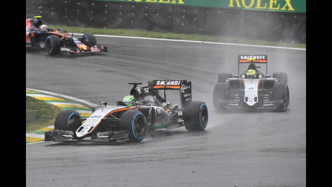 Force India - GP Brasilien 2016