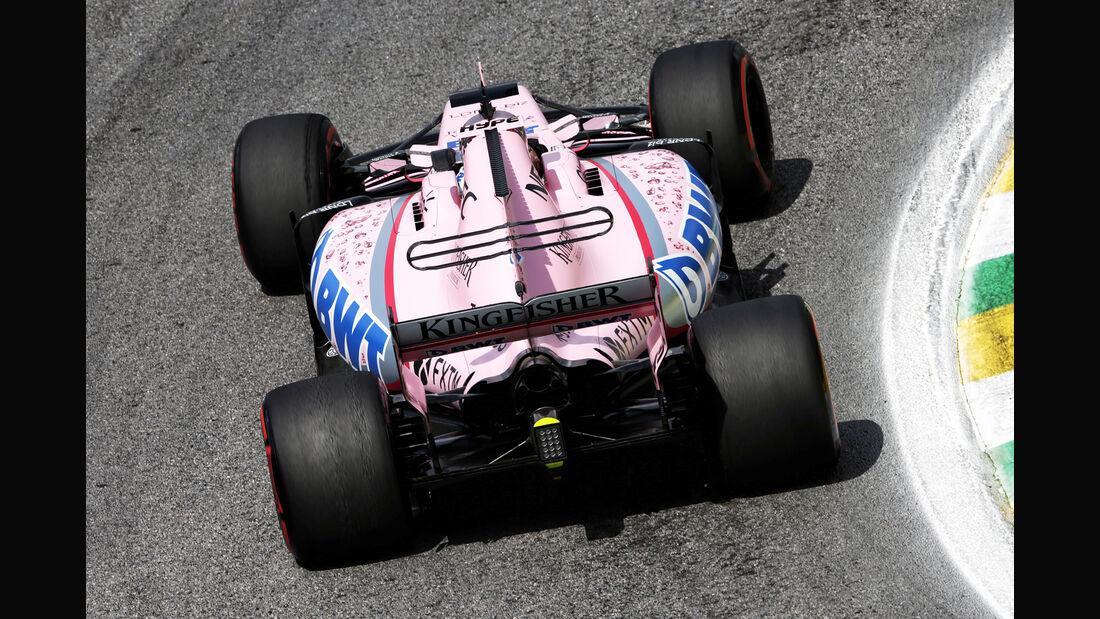 Force India - GP Brasilien 2017