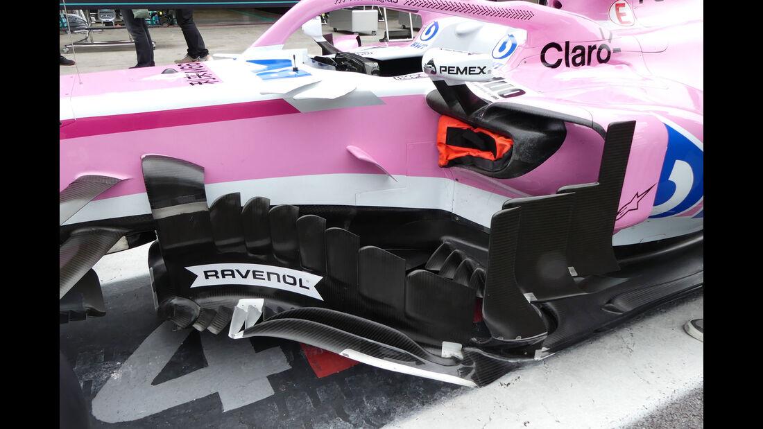 Force India - GP Brasilien - Interlagos - Formel 1 - Donnerstag - 8.11.2018