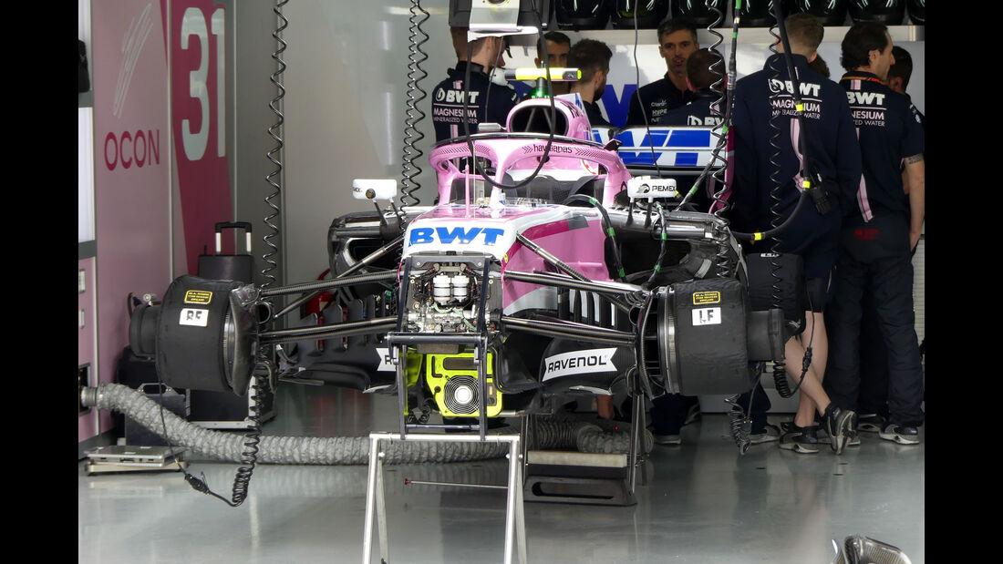 Force India - GP Brasilien - Interlagos - Formel 1 - Freitag - 9.11.2018