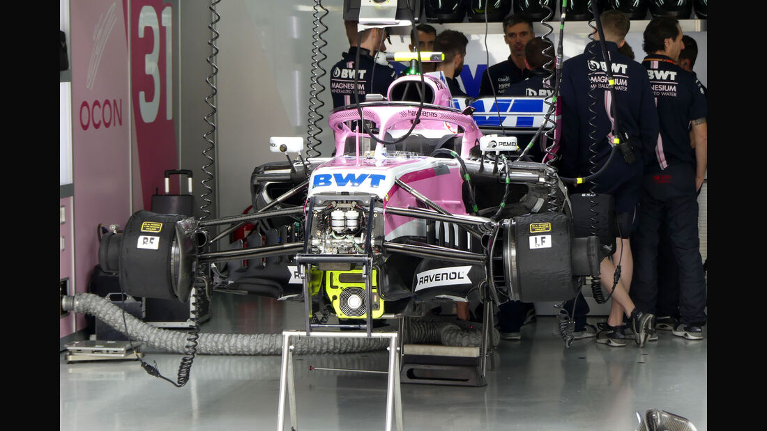 Force India - GP Brasilien - Interlagos - Formel 1 - Freitag - 9.11.2018