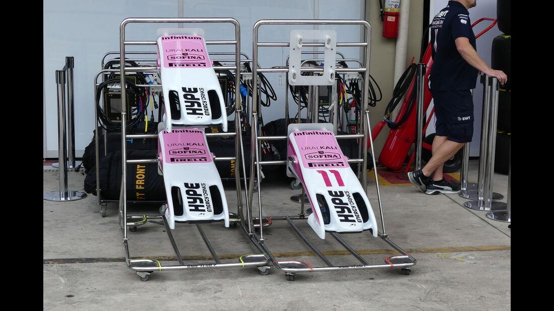 Force India - GP Brasilien - Interlagos - Formel 1 - Mittwoch - 7.11.2018