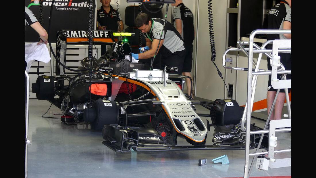 Force India - GP Brasilien - Interlagos - Freitag - 11.11.2016