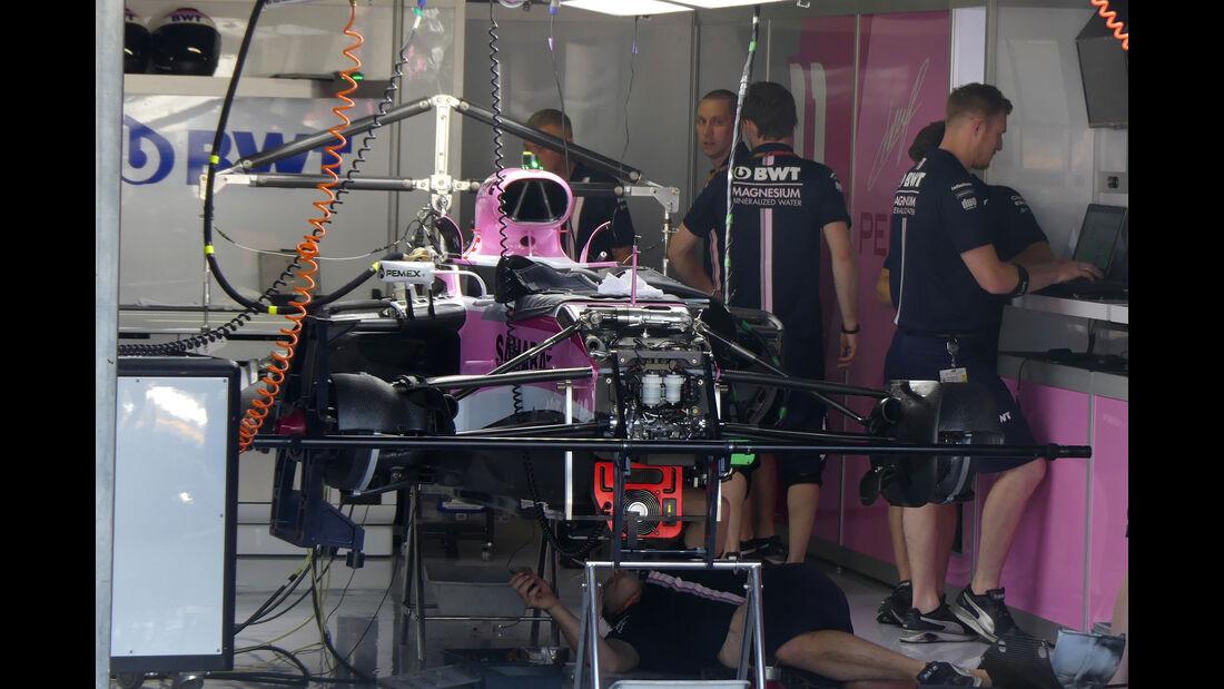 Force India - GP Deutschland - Hockenheim - Formel 1 - Donnerstag - 19.7.2018