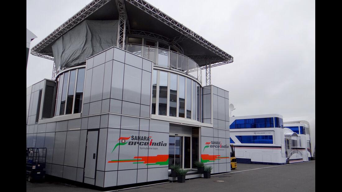 Force India - GP Deutschland - Nürburgring - 3. Juli 2013