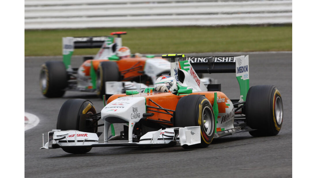 Force India GP England 2011 Rennen
