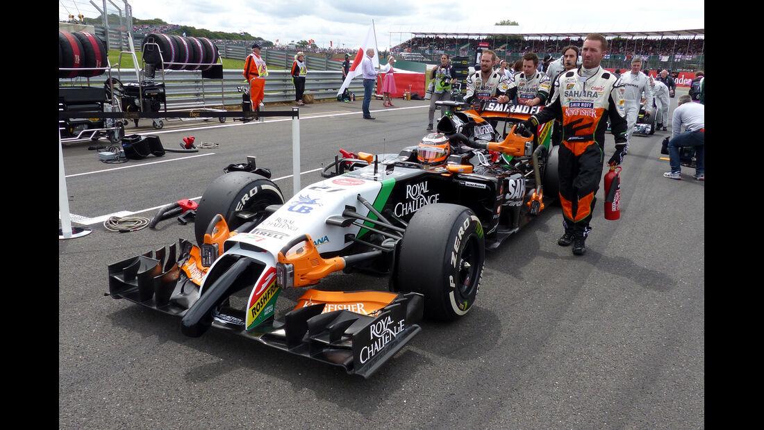 Force India - GP England 2014