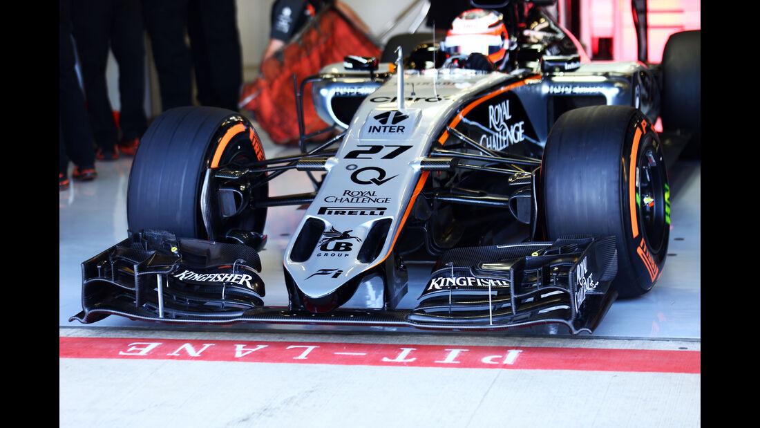 Force India - GP England 2015