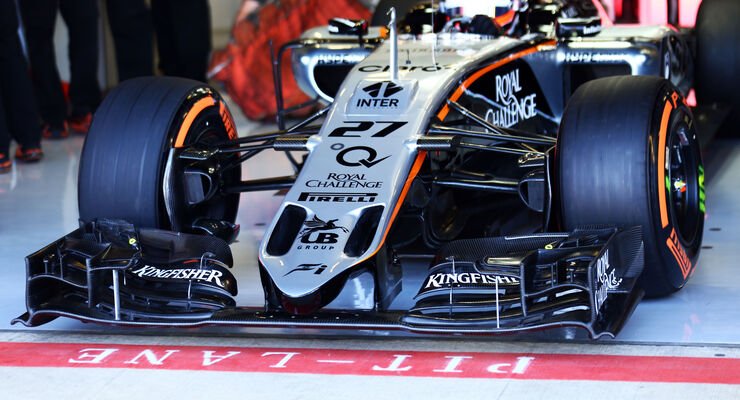 Force India - GP England 2015