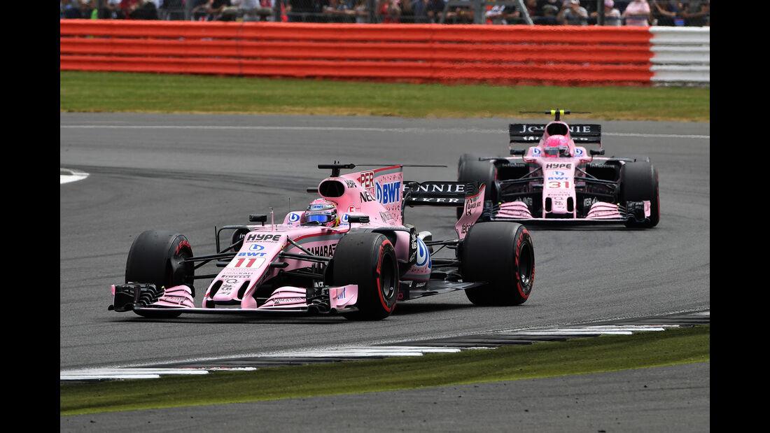 Force India - GP England 2017